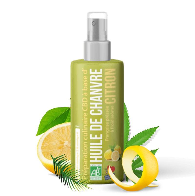 huile chanvre bio cbd citron