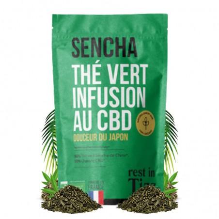 infusion thé vert cbd