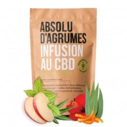 infusion cbd aux agrumes
