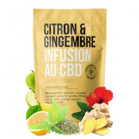 infusion cbd citron gingembre