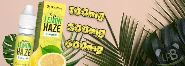 e liquide CBD super lemon haze